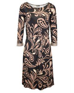 Maliparmi jurk met print