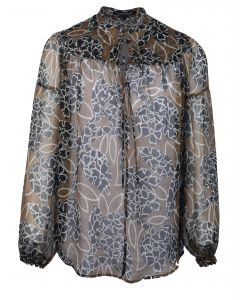Luisa Cerano blouse met print