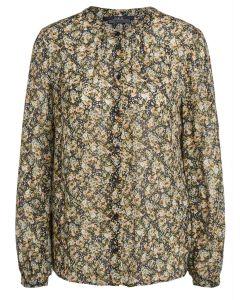SET blouse met bloemenprint