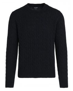 Woolrich Camel Cable Sweater